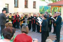 2009 – Hofkonzert im Rathausinnenhof von Zwenkau