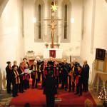 2010 – Weihnachtskonzert in der Kirche St. Nikolai in Kitzen / Hohenlohe