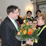2012 – Festkonzert zum 60jährigen Jubiläum des Harthchores: Chorleiter Marco Winzer